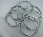 Drahtseile mit Zinkdruckgußnippeln Seil 2,5 mm