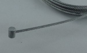 Stahlseil verzinkt mit Zinkdruckgussnippel