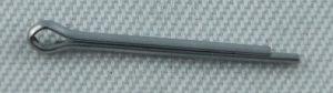 Splinte für Bolzen Gabelkopf Grösse 1x10 mm