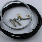 Selbstbausatz Seil 1,5 mm mit Ringöse Bohrung 5 mm
