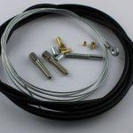 Selbstbausatz Seil 1,5 mm mit Ringöse Bohrung 6 mm