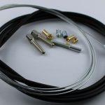Selbstbausatz Seil 1,5 mm mit Kegelnippel  8 x7,5 x 56° x 5 x 2,5 mm