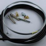 Selbstbausatz Seil 1,5 mm mit Quernippel 5,9 x 6,9 mm