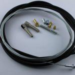 Selbstbausatz Seil 1,5 mm mit Ringöse Bohrung 3,5 mm Breite 4 mm