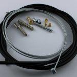 Selbstbausatz Seil 1,5 mm mit Quernippel und Führung 6x7,3 mm