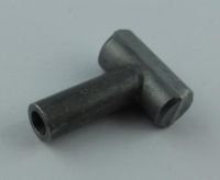 T Endstück 17,5 x 25x Bohrung 4,0 mm