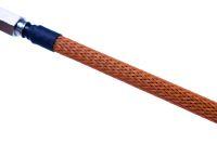 Design Geflechtschlauch Orange 7 und 8  mm