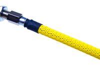 Design Geflechtschlauch Neon Yellow 4,5,6 mm