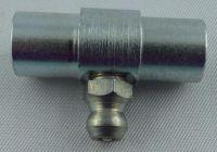 Stahlschmiernippel 12x10x29 Bohr 6,3 mm