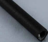 Flachdrahtspirale 5,5x8,8x10,0 mm PVC Schwarz ohne innenrohr