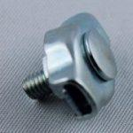 Simplex Klemme verzinkt mit Schraube f. Seil 2- 2,5 mm