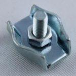 Simplex Klemme verzinkt mit Schraube f. Seil 4 - 4,5 mm