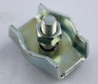 Simplex Klemme verzinkt mit Schraube f. Seil 5- 5,5 mm
